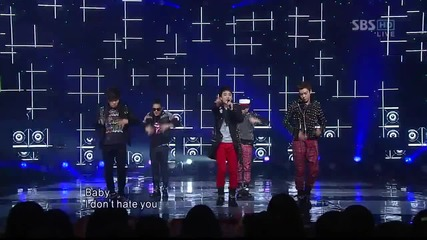 Bigbang - Stupid Liar [live performance on S B S Inkigayo][високо качество]