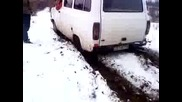 ford tranzit off road studena