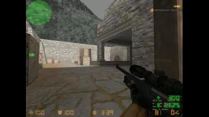 Counter - Strike - Стрелба С Awp - Headshot