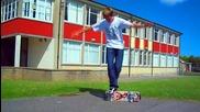Гърчове комплекс (freestyle скейтборд Hd) Песен Дефтоунс - Minerva