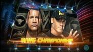 Wrestlemania 29 The Rock Vs John Cena Official Matchcard Hd