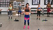 Autumn Calabrese - Day 67 Cardio Core Phase 3. 80 Day Obsession