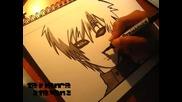 Как да нарисувате Гаара (наруто Шиппууден )