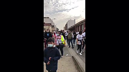 France: Hundreds march in Paris suburb in memory of killed teenager