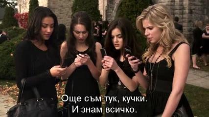 Малки Сладки Лъжкини сезон 5 епизод 1с Бг суб / Pretty Little Liars season 5 episode 1 Bg sub