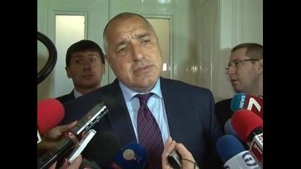 Борисов: ГЕРБ няма да подкрепи Лидия Руменова за шеф на Сметната палата