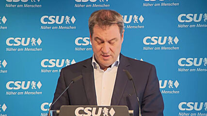 Germany: 'Only a united Union can be successful' - Soder accepts defeat in CDU/CSU candidacy race
