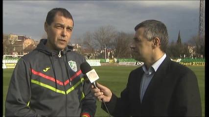 Хубчев доволен от класиката срещу Локо Пловдив