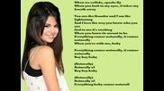 Selena Gomez - Naturally lyrics