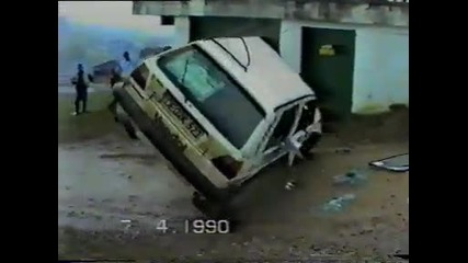 Golf 2 crash