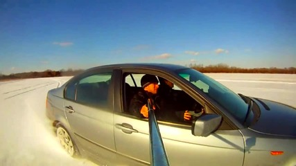 Лудеене в снега с Bmw 325xi