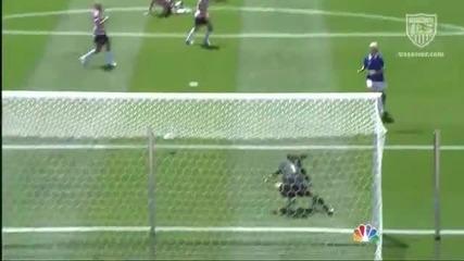 Най - добрата вратарка във футбола - Спасяване почти невъзможно!