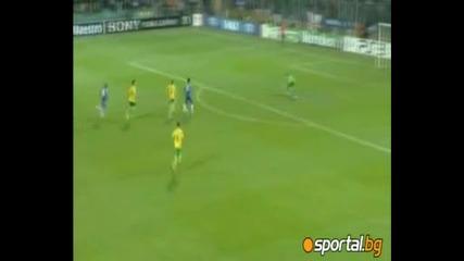 Шампионска Лига - Жилина - Челси 1:4