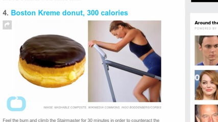 Workouts to Try Based on the Donut You Ate Today