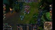 League of Legends - 5vs5 / Quadra Kill Vayne