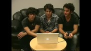 Jonas Brothers Live Chat 28th May 2009 Part 1