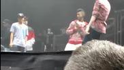 Justin Bieber Soundcheck Tampa 121910 Dougie & Jerk