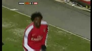 Hull city 0 - 1 Arsenal - Adebayor