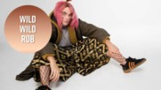 Here's Rob Pattinson in fishnets and a pink wig