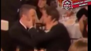 """Шок на """" Златния глобус""""! Целувка, която засенчи носителя на награда"""