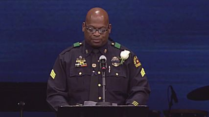 USA: Funeral service held for Texas police Sergeant killed in Dallas shooting