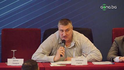 Любо Ганев е новият президент на федерацията по волейбол