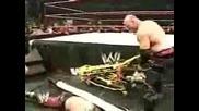 Острието срещу Кейн(мач с носилка)