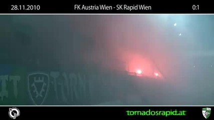 28.11.10 Derbysieg - Ultras Rapid wien