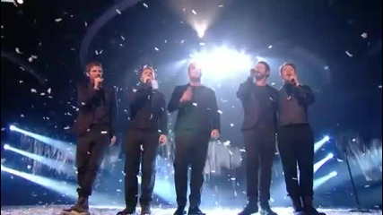 Take That - The Flood (live X Factor 12.12.10 Hq Audio)