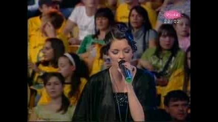 Jelena Kostov - Ja te pjesmom zovem(zvezde Granda2008)