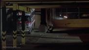 Червена Топлина (1988) - сплашване с автобус