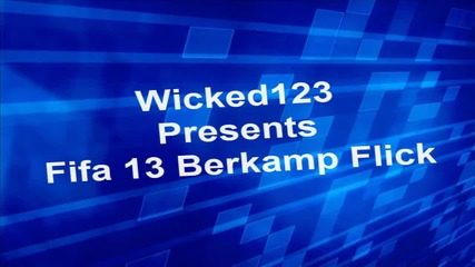 Fifa 13 Berkamp Flick[demo]