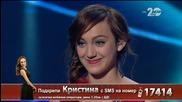 Кристина Дончева - X Factor Live (18.11.2014)