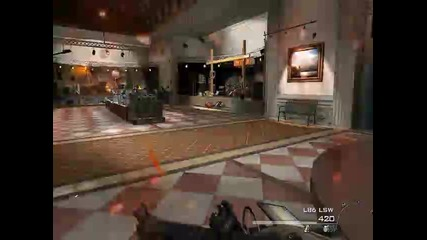 Modern Warfare 2 борба с Juggernaut-a
