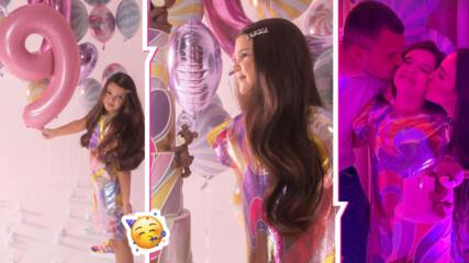 Една принцеса на 9 г.: Дъщерята на Николета Лозанова с бляскав рожден ден! Вижте го!