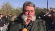 Bulgaria: Scores protest planned refugee housing in Boyanovo