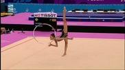 Невяна Владинова - обръч - Европейски игри
