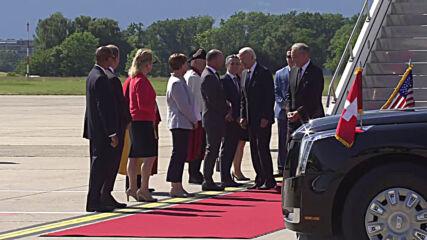 Switzerland: Biden arrives in Geneva ahead of meeting with Putin