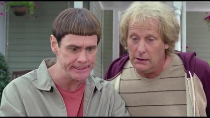 Официален Трейлър От глупав по - глупав/dumb and Dumber Trailer (2014)- Jim Carrey & Jeff Daniels Hd