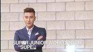 "Super Junior World Tour "" Super Show 6 "" is …ing!"