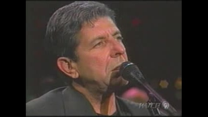 Leonard Cohen - If It Be Your Will