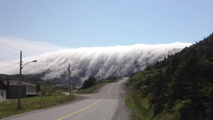 Гледайте какво невероятно природно явление са успели да заснемат в Канада! Малко плашещо, но красиво