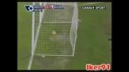 21.02 Супер Гол На Кристиано Роналдо ! Манчестър Юнайтед - Блекбърн 2:1