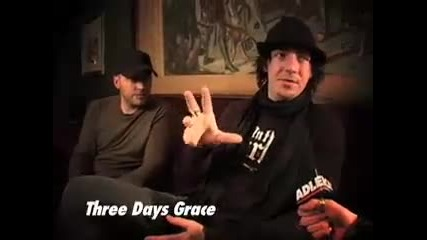 Three Days Grace - Pt 1 - Lonely in Public,  Substance Abuse