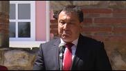 Посланикът на Сащ и кметът на Несебър стартираха проекта за консервация и реставрация св. Йоан