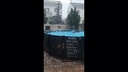Spain: Golf ball-sized hailstones batter Ciudad Real