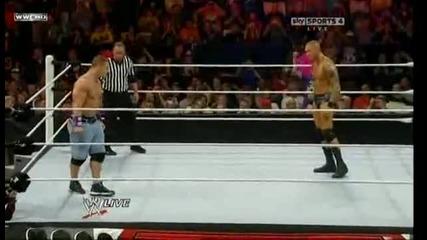 Raw 13.09.2010-john Cena vs Randy Orton(table mach)
