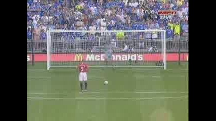 Man Utd - Chelsea Penalty Kicks 3 - 0