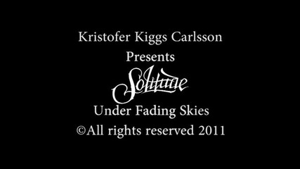 Solitude - Under Fading Skies (official Video)