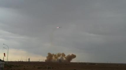 Ужас! Разбиване на ракета при опит за изстрелване :)